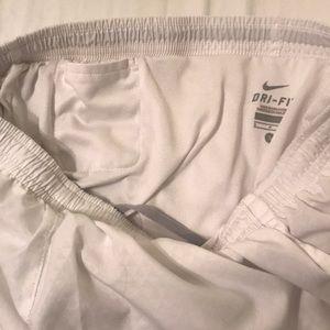 Nike Shorts - White nike athletic shorts